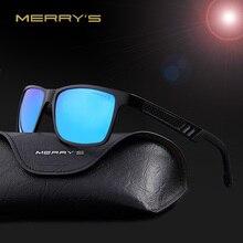 MERRY'S Fashion Aluminum Magnesium Polarized Sunglasses Men Brand Designer Sun Glasses Driving Eyewear oculos Shades S'8571