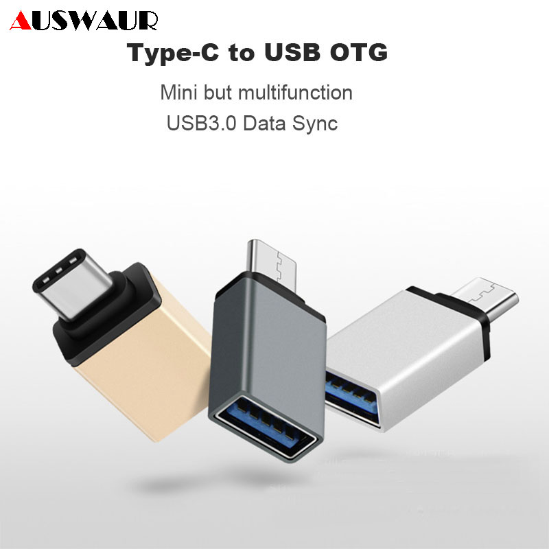 USB Type C OTG Data Sync Adapter Converter For Huawei P20 P30 Hornor Matebook Samsung S8 S9 S10 Plus Xiaomi USB OTG