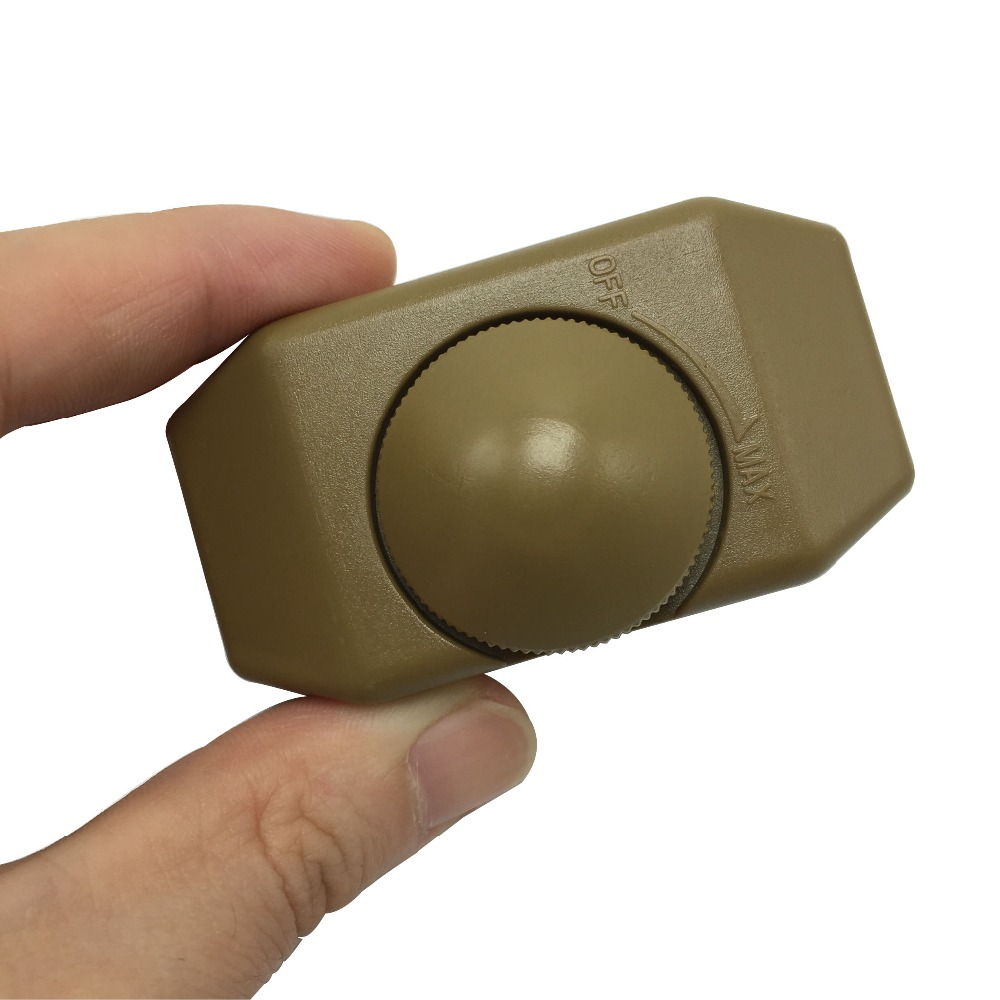 4pcs lamp dimmer switch 220v 3a bronze table lamp floor light knob switch dimmers good quality