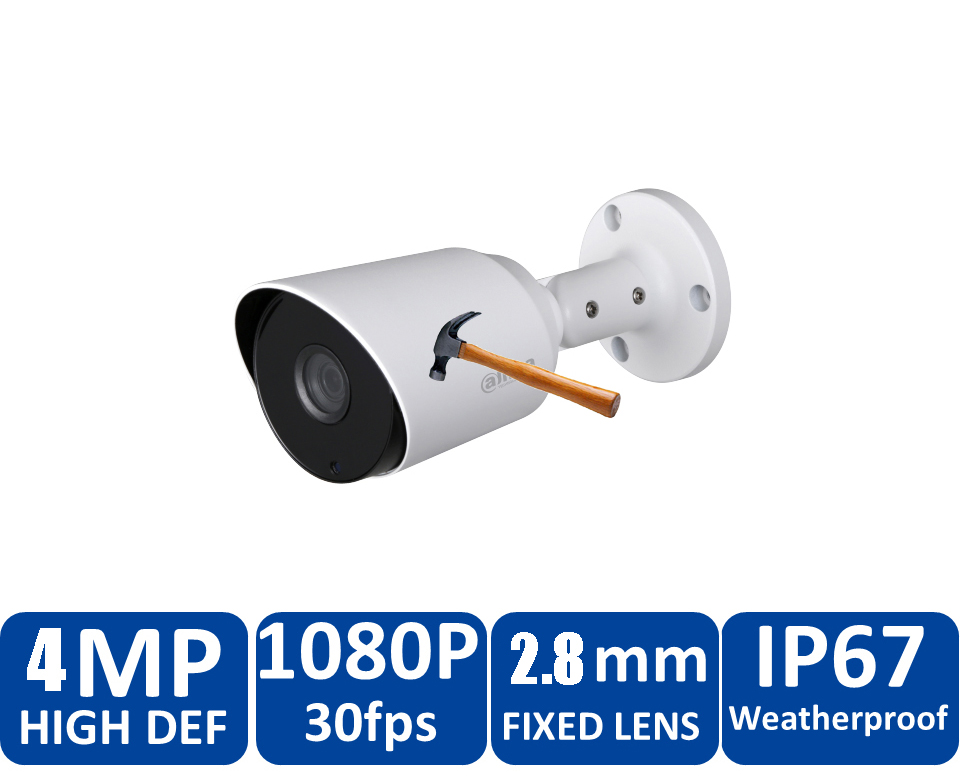 Original Dahua 4MP HDCVI Camera DH-HAC-HFW1400TP HDCVI IR bullet Security Camera CCTV IR distance 50m HAC-HFW1400TP cvi camera dahua hdcvi 1080p bullet camera 1 2 72megapixel cmos 1080p ir 80m ip67 hac hfw1200d security camera dh hac hfw1200d camera