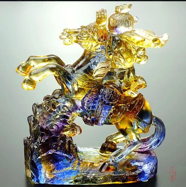 Immediately Monkey Ancient Glass Crystal Crafts Ho