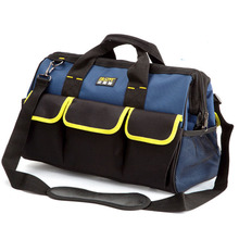 16″ 33x21x23cm Extra Large Electrician Tool Bag Hardware Tool Holder Belt 600D Oxford 20 Pockets Organizer Handbags