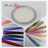 TCWB223 New Arriving Unicorn Powder Mermaid Nail Art Aurora Chrome Pigment Best Effect For Nail Art