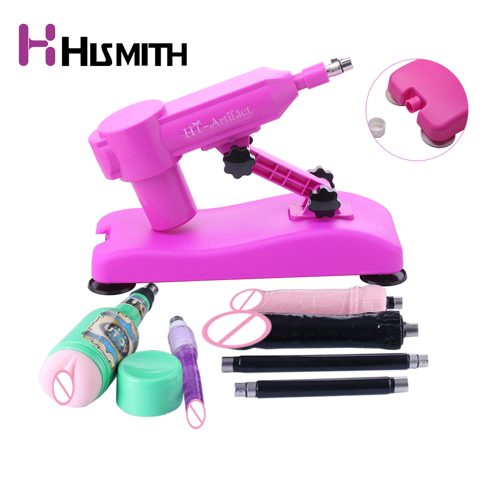 Hismith Water Injection <font><b>Sex</b></font> <font><b>Machine</b></font> with Free 3 <font><b>Dildos</b></font> Masturbation Cup Extension Rod Suction Cup Dropshipping AU EU US UK Plug image