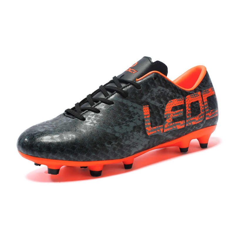 Leoci Men Boys Kids Soccer Shoes Outdoor Spikes Football Boots Cleats Children Training Futbol Boot 33-45 Chaussure De Foot