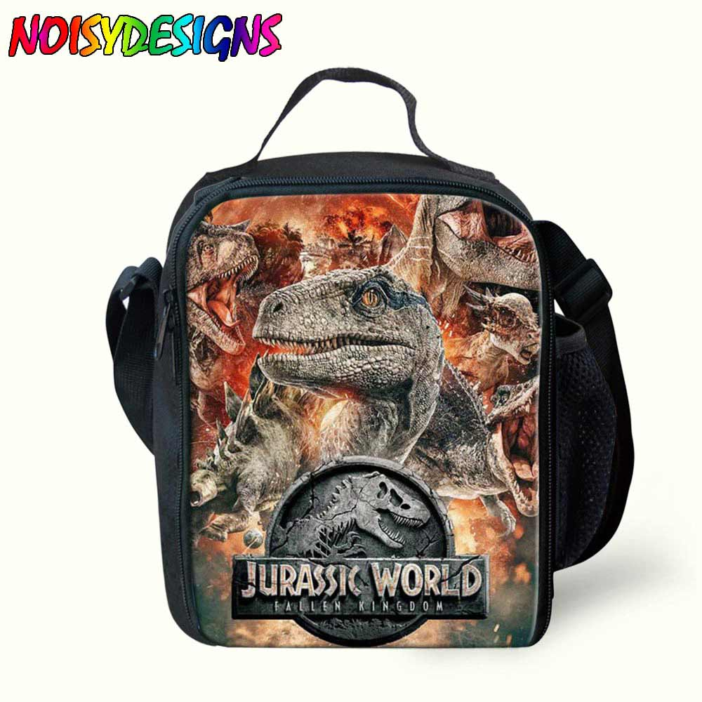 5097e3c18f69 US $15.0 40% OFF|Lunch Bag Famous Jurassic Park world Printing Portable  Insulated Food Picnic Women Kids Men Cooler Lunch Box Tote for Girls-in  Lunch ...