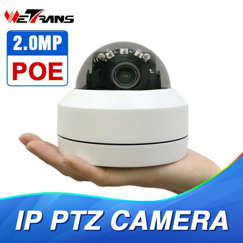 Domo PTZ cámara IP 1080 p Full HD Onvif 3X Zoom P2P H.264 30 m IR visión nocturna impermeable 2MP Domo al aire libre POE cámara IP PTZ