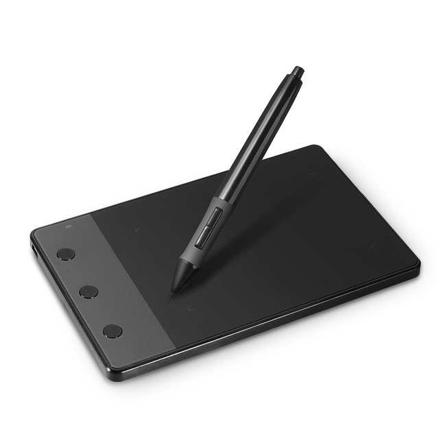 Huion H420 Graphic Tablet with Wool Bag + Two Fingers Gloves