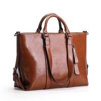Nesitu красный Цвета: коричневый, черный, синий работа в офисе ПР A4 Разделение кожа Для женщин Сумки сумка женщина Курьерские сумки женские сум...