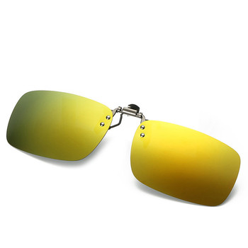 Mirror Polarized Sunglasses Clips Women Men UV400 Night Vision Lens for Reading Sports Glasses oculos de sol feminino