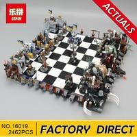 Lepin 16019 Genuine Movie Series The Castle Giant Chess Set 852293 Building Blocks Bricks Educational Toys As Christmas Kid Gift