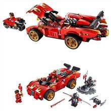 2016 New 425pcs 9796 X-1 Ninja Charger model Building Blocks toys Compatible Decool Sluban Ninjagoed Bricks Minifigure gifts