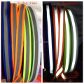 1cm Reflective Shoelaces Visibility Flat Shoe Laces Running Cycling Safty Shoestrings Cords