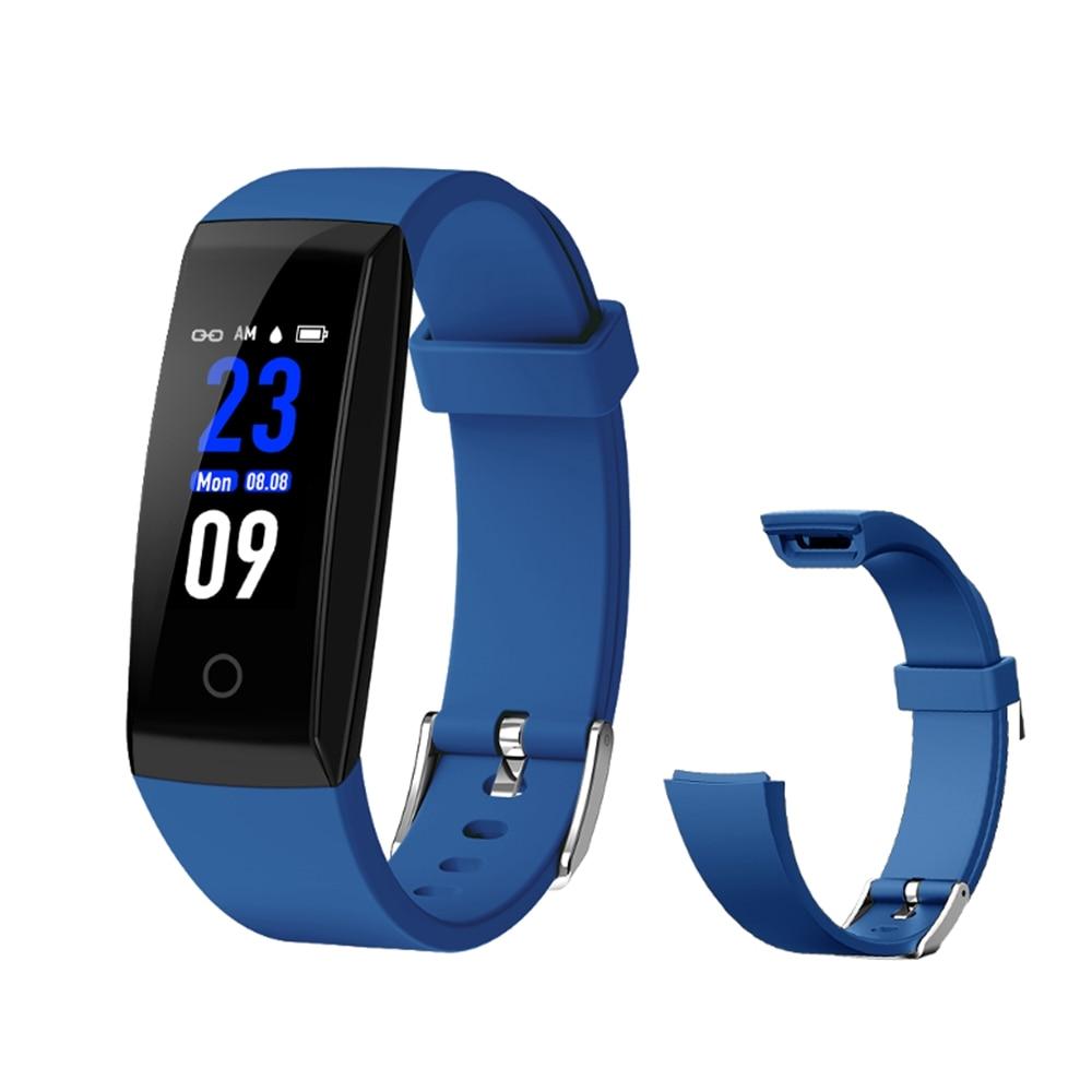 Bakeey W8 Smart Band Bracelet IPS Color Screen Waterproof Bluetooth Heart Rate Sleep Monitor Pedometer Wristband Men Women