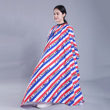 Vintage Stripe Hairdressing Cape Haircut Apron Salon Hair Dyeing Salon Gown Waterproof Cloth Classical Barber Shop Pattern U1048(China)