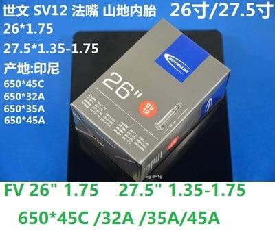 Schwalbe 20 sV6 v/élo 20 x 1,75//1,5//28 40 406 n sV