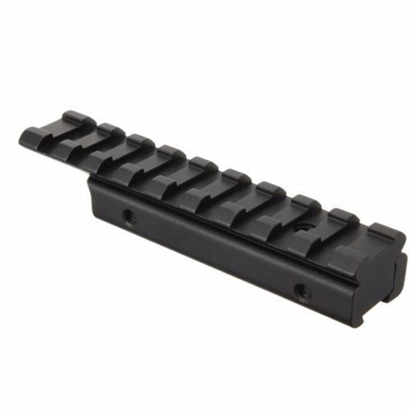 Image 5 - Dovetail Extend Weaver Picatinny Rail Adapter 11mm to 20mm Extensible Tactical Scope Bases Mount for Rifle/Air Gun Hunting-in Scope Mounts & Accessories from Sports & Entertainment