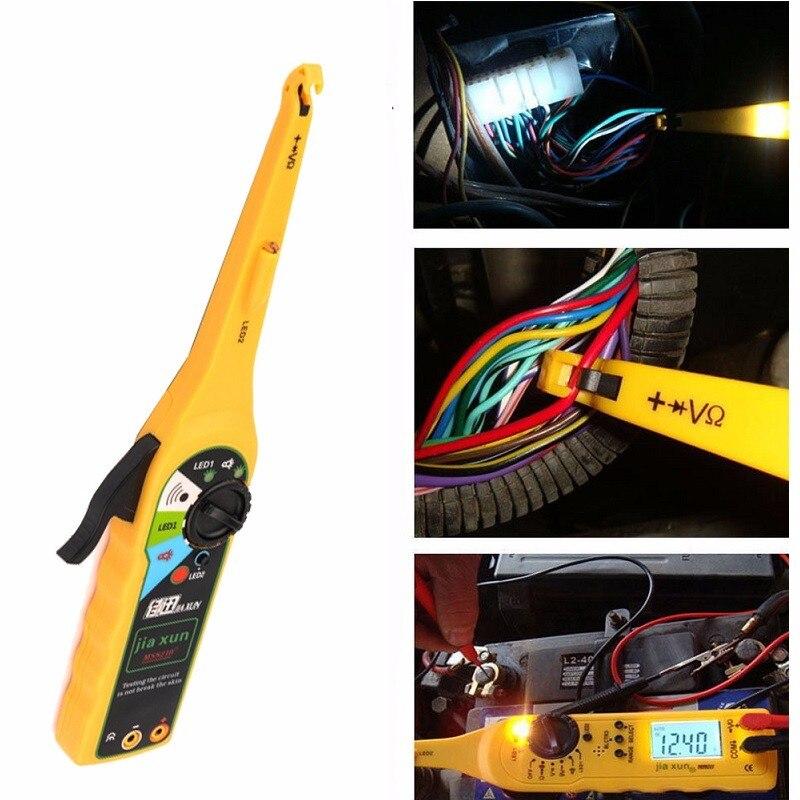 12 В автомобиля Батарея тестер цепи автоматического мультиметр ремонт автомобилей automotiva Электрические инструмент диагностики