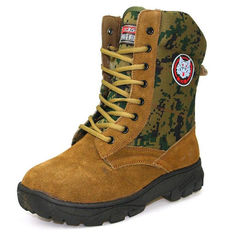 Stivali da uomo 2018 Camouflage scarpe di cuoio genuino degli uomini di  inverno scarpe antiscivolo impermeabile stivali da neve della caviglia in  Stivali da ... 202ce7dcd5c