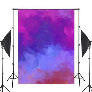 Image 2 - Dreamlike Purple Blue Photography Backdrop Art Smoke Background Kids Photo Studio 5x7ft Photography Background Wall