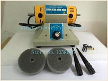 220V TM-2 Benchs Lathe Polisher Took Kit Gem Jewelry Rock Polishing Buffer Machine