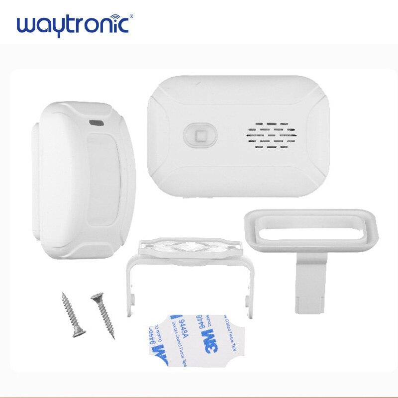 Image 4 - Wireless Welcome Alarm Doorbell PIR Store Shop Entry Motion Sensor Infrared Detector Induction Door Bell-in Sensor & Detector from Security & Protection