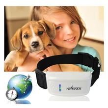 Mini GPS Tracker with Collar Waterproof Real Time Locator Rastreador Localizador Chip for Pets Dogs Perro Pigs Tracking Geofence