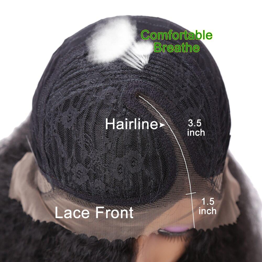 Πλευρικά τμήματα Περούκες Ανθεκτική - Συνθετικά μαλλιά - Φωτογραφία 5