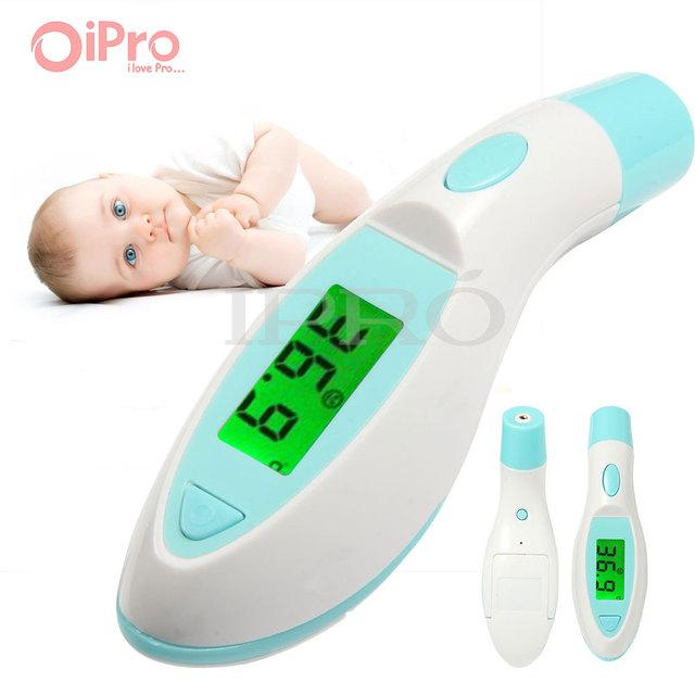 Febre Termometro Digital Sin contacto LCD termómetro Digital de Oído Infrarrojo de La Frente Del Bebé Termómetro del Cuerpo Temperatura herramienta de Diagnóstico