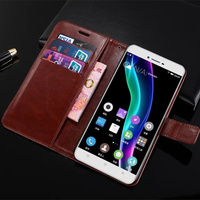 S6 for Gionee S 6 GN9010 Case Book Style Flip Wallet Card Slot Stent Cases Oil Wax Leather Cover Black GN 9010 GN6 Gionee6