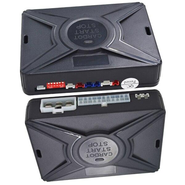 Système de sécurité de voiture intelligent verrouillage automatique sans clé passif ou déverrouillage de la porte de voiture bouton poussoir démarrage arrêt smart ani alarme de détournement - 2