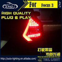 AKD Car Styling Tail Lamp For Ford Focus Tail Lights 2012 HatchBack LED Tail Light LED