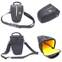 Nylon DSLR Camera Bag With Shoulder Strap Black Color For Nikon D40 D60 D80 D90 D3000
