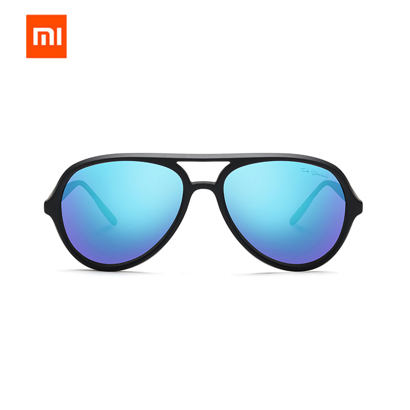 Xiaomi Mijia TS STR015-0105 Ice Blue TAC Polarized Sunglasses UV400 TAC Lens Men Women Outdoor Sports Cycling Driving Sunglasses