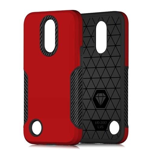 Red Phone case lg k20 5c64f482940ca