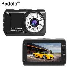 Podofo 2017 New Original 3 inch Car DVR Novatek 96223 Car Camera 1080P Full HD Recorder Night Vision G-sensor Registrar Dashcam