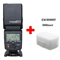 Yongnuo YN 568EX II for Canon YN568EX Flash Speedlite YN 568 for 5DIII 5DII 5D 7D 60D 50D 650D 600D 550D 500D 450D 400D 350D