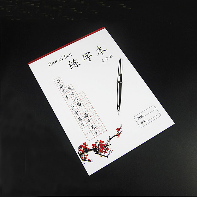 Chinese Writing Grid Rice Exercise Book For Beginner Chinese
