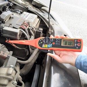 Image 5 - Lancol outils de réparation multimètre électrique automobile, outils de réparation avec numérique multifonctionnel testeur de Circuit automatique lampe multimètre 4 en 1