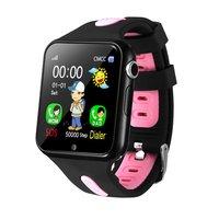 V5+ Touch Screen Waterproof Children Smart Watch Photo Call Kids Smart Multi function Positioning Bracelet Clock Kids Gift