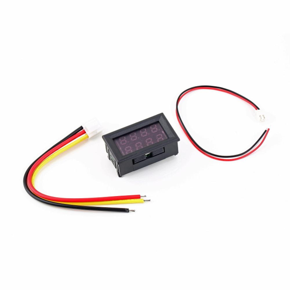 1pc Dc 0 30v 10a Voltmeter Ammeter Blue Red Led Amp Dual Digital Wiring 1x Aeproductgetsubject