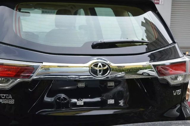 Auto rear trunk trim for Highlander 2015, Type B,auto accessories
