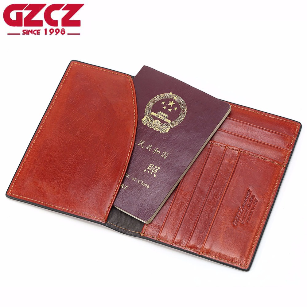 GZCZ Genuine Leather Women Wallet Female luxury brand Coin Purse Mini Walet Passport Card Holder Super Thin Woman Vallet 2018 smirnoff slim genuine leather wallet case hand made custom name hasp simple style mens wallet super thin card purse mini wallet