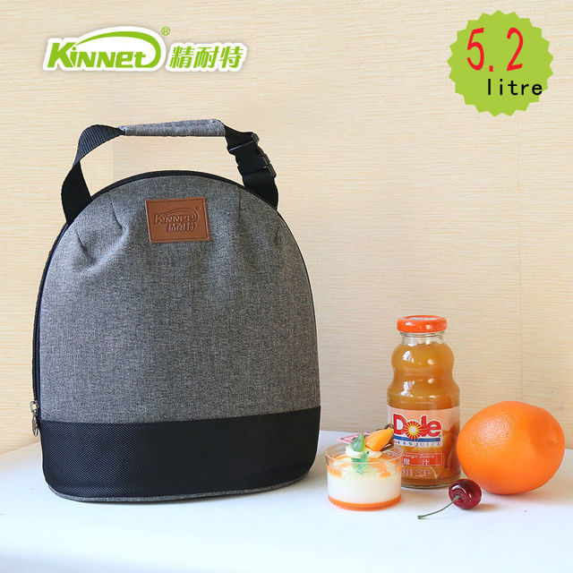 KinNet девушки обед мешок для женщин 5.2L Принести пищевой упаковки из алюминиевой фольги портативный охладителя тепловой пакет
