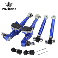PQY FRONT LOWER CONTROL ARM For NISSAN S13 Adj Front Lower Control Arm Blue Color PQY9831