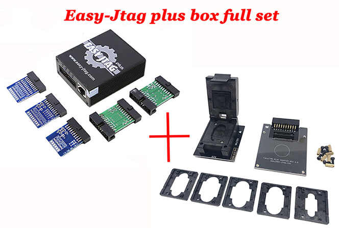 Oityn Original Easy-Jtag plus box Easy Jtag plus box Activated come with EMMC socket For HTC/ Huawei/LG/ Motorola /Samsung /SONY