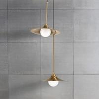 Vintage Retro Loft LED pendant lights industrial lamp metal hanglamp living room kitchen Bar Counter luminaire hanging lamp
