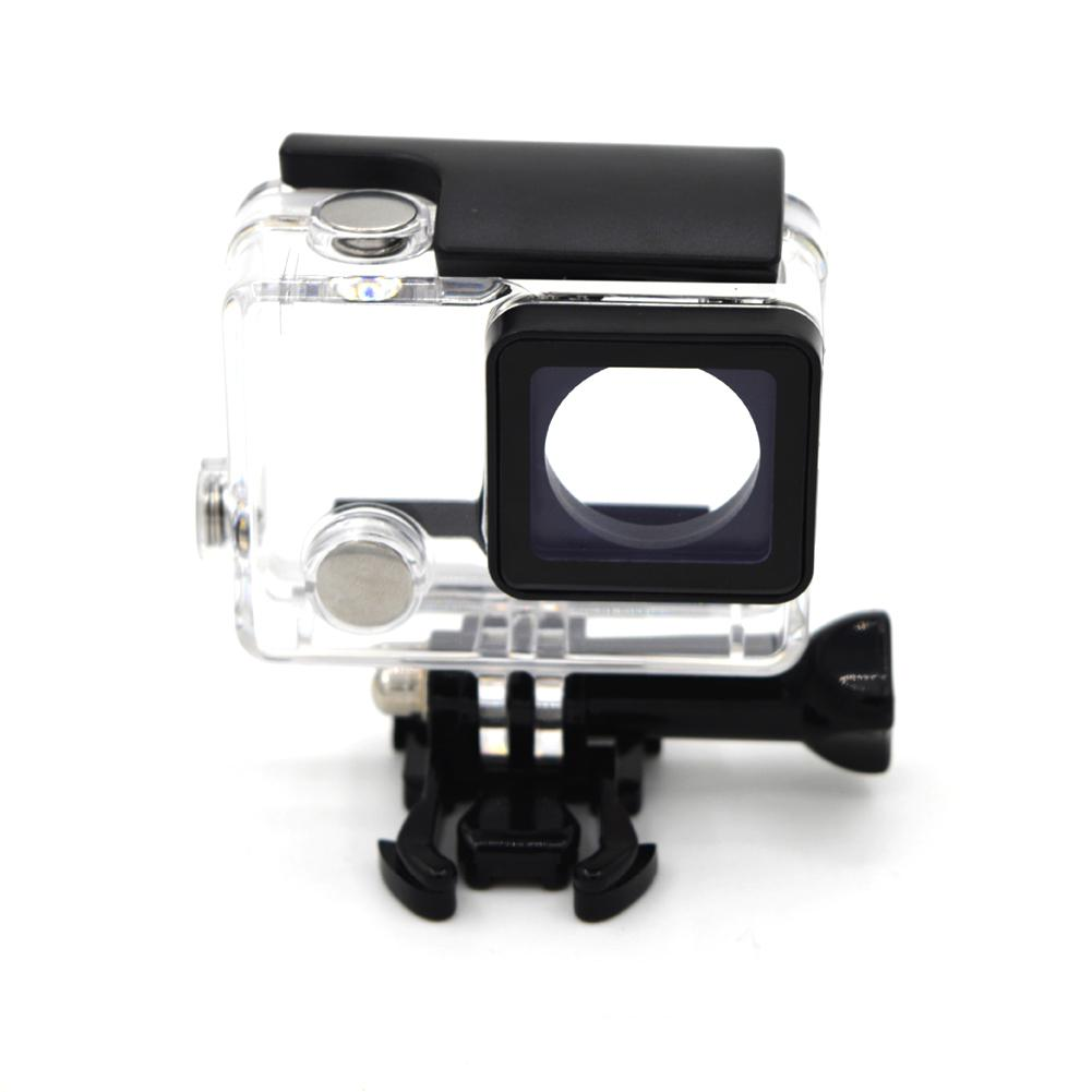 BEESCLOVER Waterproof Housings Case for GoPro Hero 4 3 Black Action Camera Underwater Housings Case for Go Pro Accessories r29 image