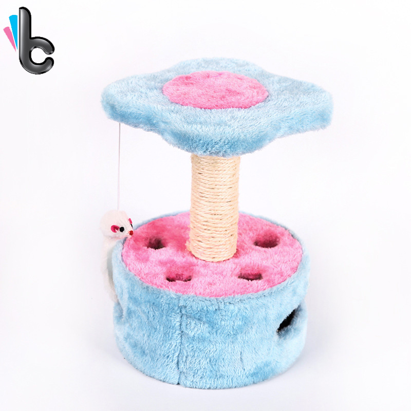 Pet Cat Toy Cat Scratch Board Mini Cat Climbing Toy Interactive Toy for Pet Cat Training