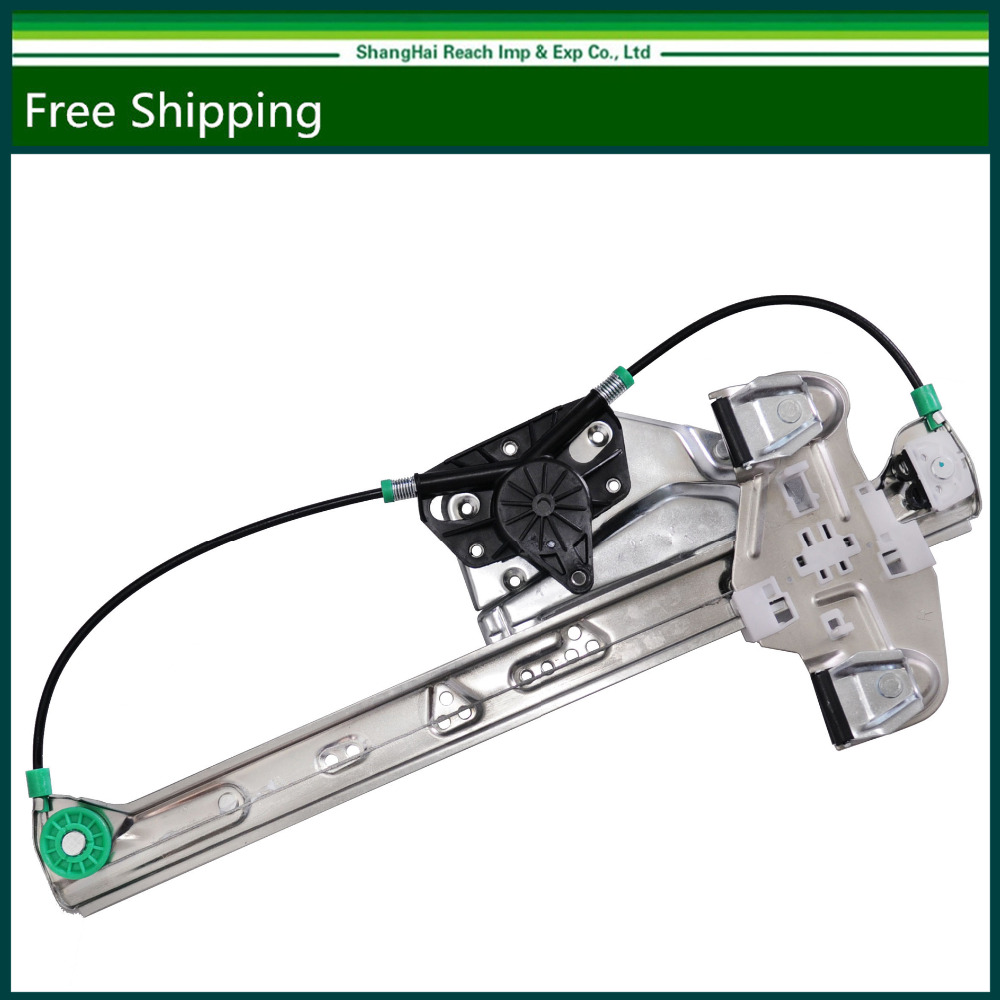 Rear passenger side window regulator without motor for cadillac deville 00 05 oe 10393233 25737257 740 582 135 01839r
